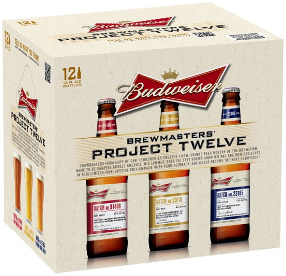 Budweiser Project Twelve Sampler Pack Beer