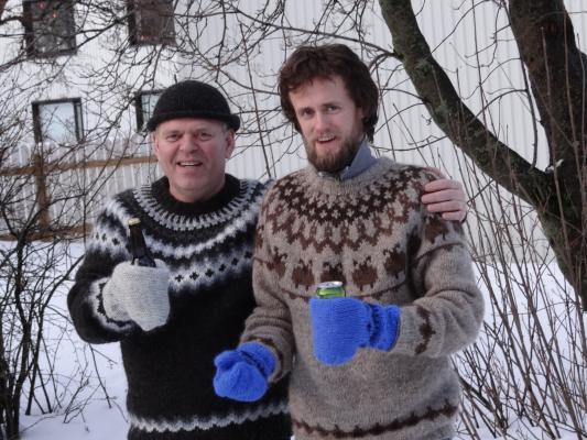 Icelandic Beer Mittens