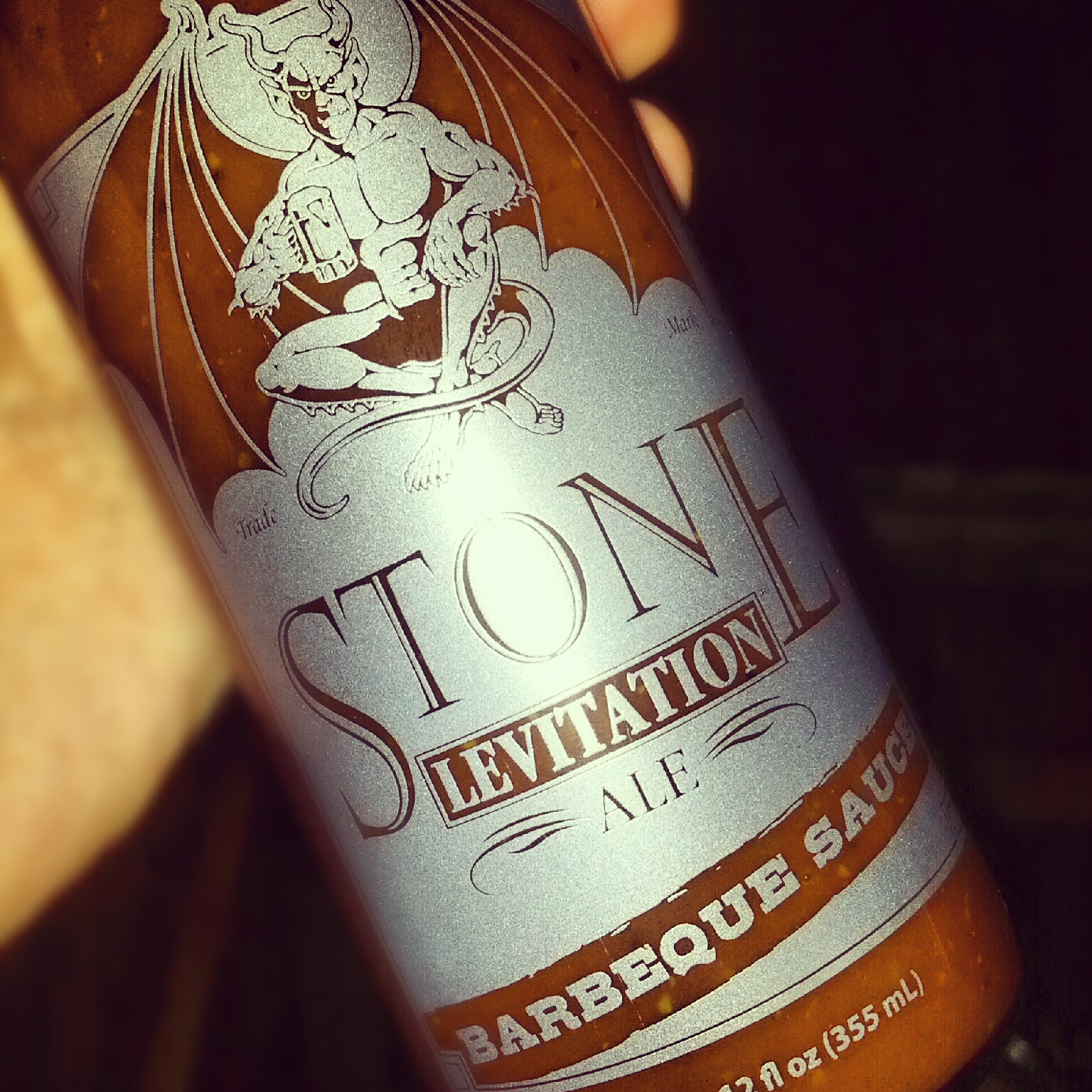 Stone Levitation Beer : Stone levitation ale barbeque sauce is fantastic urban