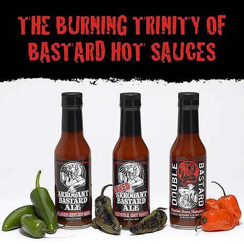 Stone Brewing Co.'s Burning Trinity of Hot Sauces