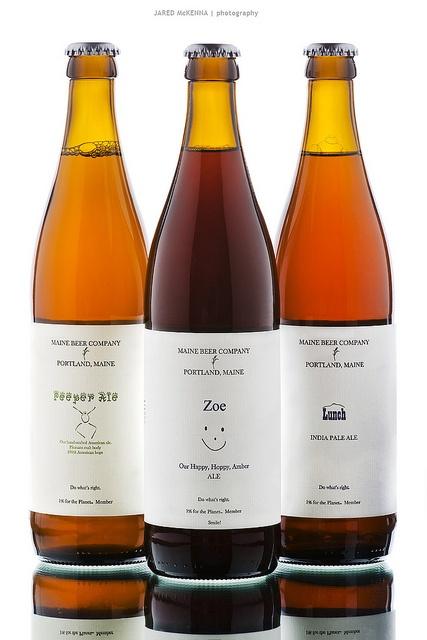 Maine Beer Company bottles