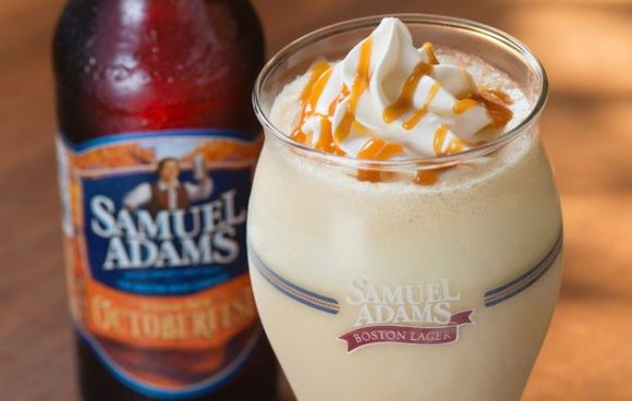 Samuel Adams Octoberfest Milkshake from Red Robin
