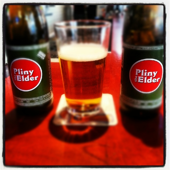 Russian River Pliny the Elder bottles