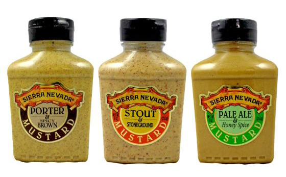 Sierra Nevada trio of mustards