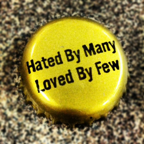Stone Brewing Co. Hated by Many, Loved by Few bottle cap