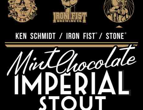 Stone Collaboration Mint Chocolate Imperial Stout label