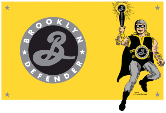 Brooklyn Brewery's The Defender IPA NY Comic Con beer