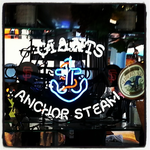 Anchor Steam Beer at AT&T Park