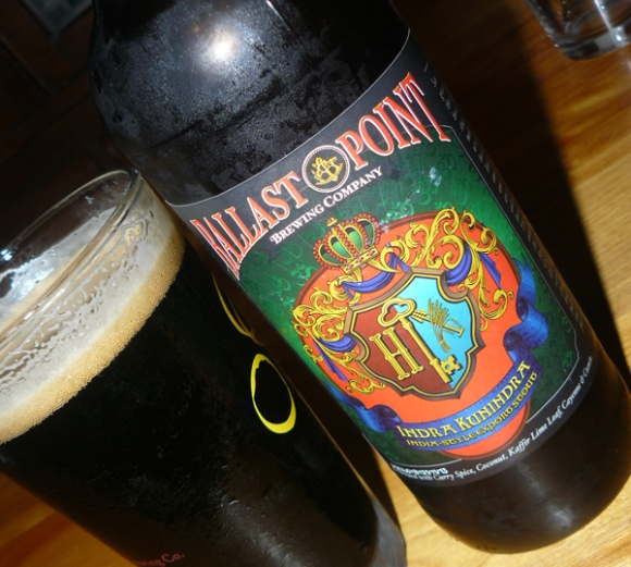 Ballast Point Indra Kunindra India-Style Export Stout