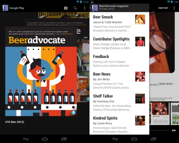 Beer Advocate magazine for Android