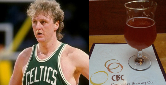 Larry Bird Haircut beer
