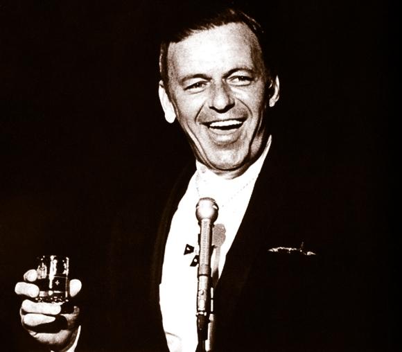 Frank Sinatra Drinking