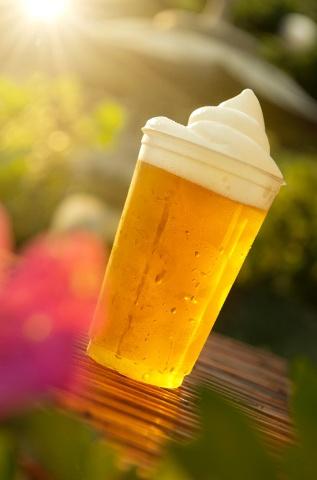 Frozen Kirin draft beer