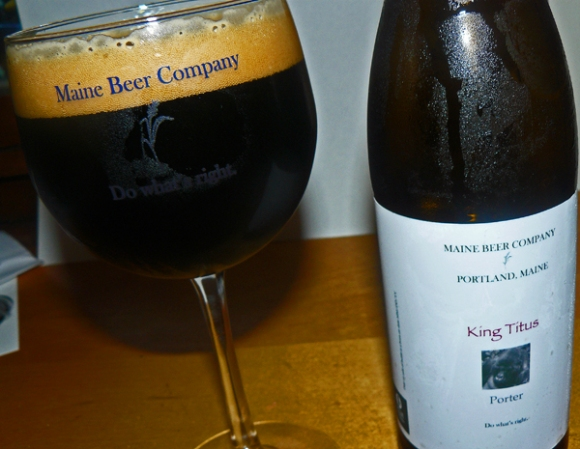 Maine Beer Company King Titus Porter