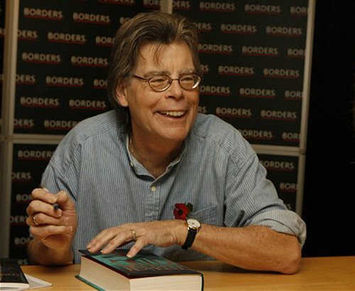 Stephen King book signing