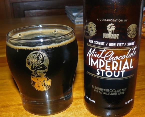 Ken Schmidt / Iron Fist / Stone Mint Chocolate Imperial Stout