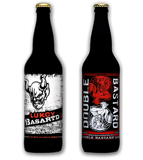 Lukcy Basartd and Double Bastard Ales (2012)