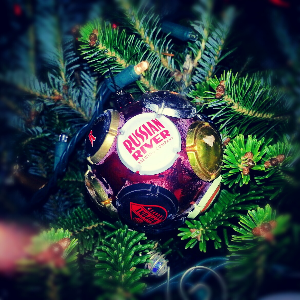 how to make your own custom beer nerd christmas ornament - Nerdy Christmas Ornaments