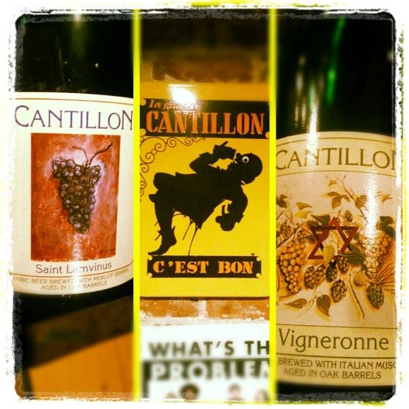 Brasserie-Brouwerij Cantillon bottles