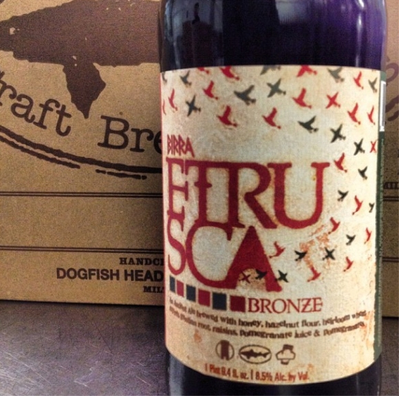 Dogfish Head Birra Etrusca Bronze Ancient Ale