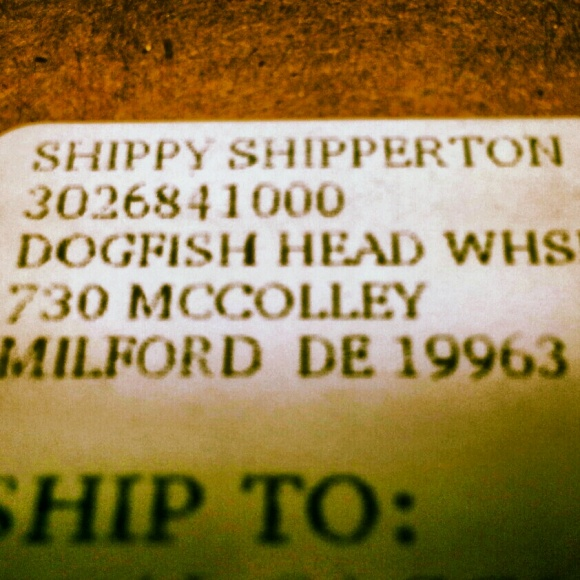 Dogfish Head Shippy Shipperton