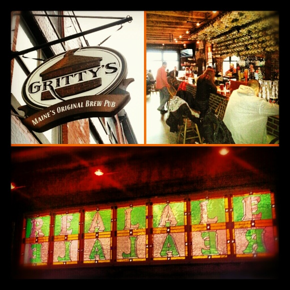 Gritty McDuff's Brew Pub in Portland, Maine