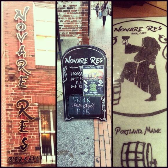 Novare Res Bier Café in Portland, Maine