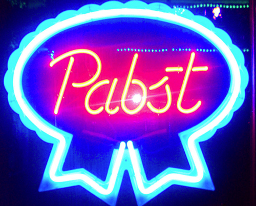 PBR Pabst Blue Ribbon Neon Sign