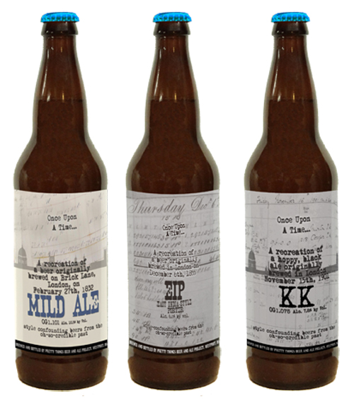 Pretty Things Beer and Ale Project OUAT Old Beers