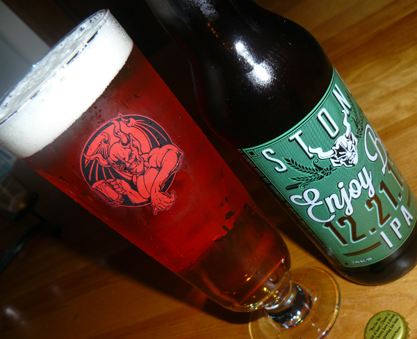 Stone Brewing Co  Enjoy By 12 21 12 IPA Review   Urban Beer Nerd