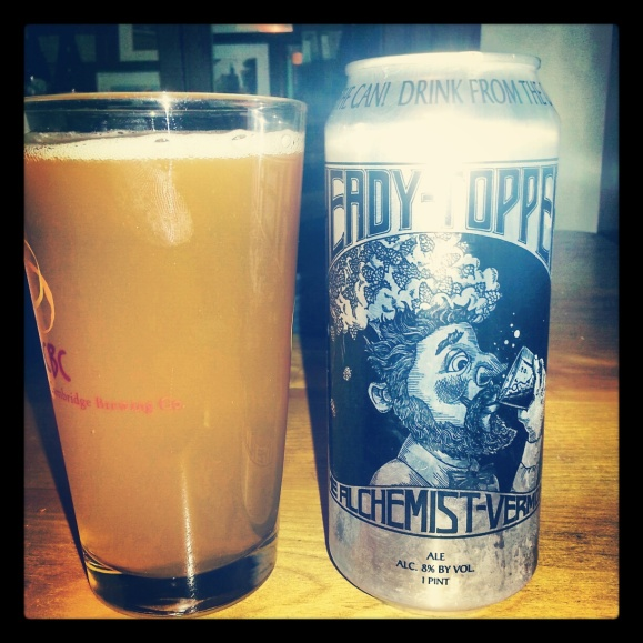 Heady Topper Double IPA by the Alchemist Vermot