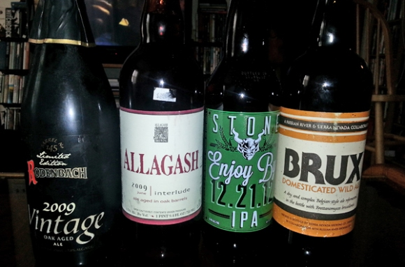 Rodenbach Vintate Allagash Interlude Stone Enjoy By IPA Brux