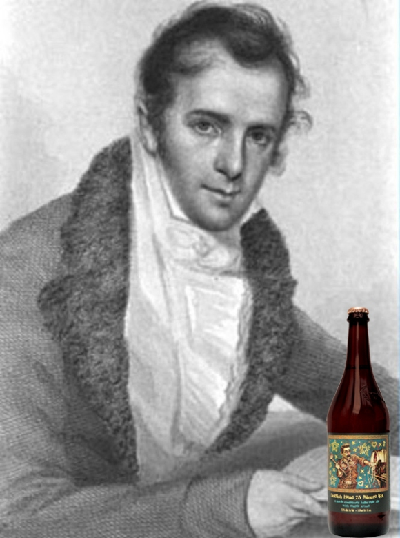 Washington Irving with Dogfish Head 75 Minute IPA