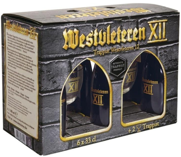 Westvleteren XII abbey of Saint Sixtus