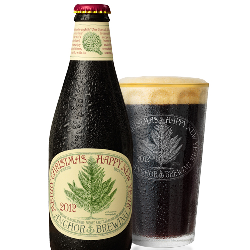 Anchor Brewing Co. Our Special Ale/Christmas Ale 2012