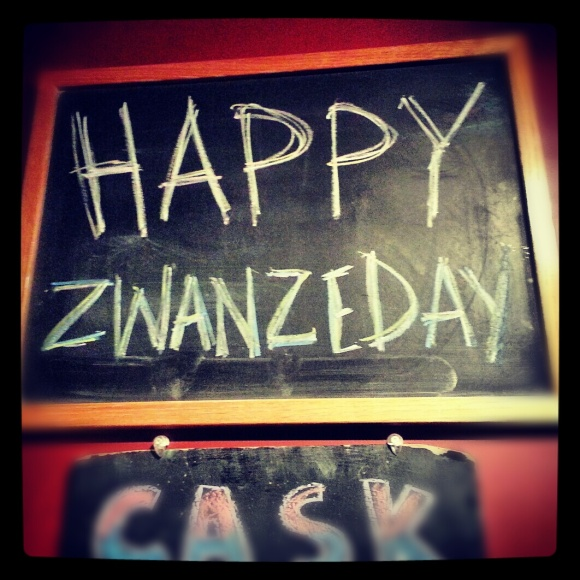 Zwanze Day 2012 at Lord Hobo