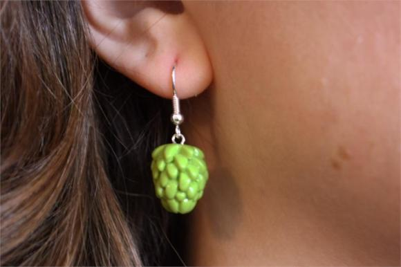 Hop earring from Summit Brewing Co.