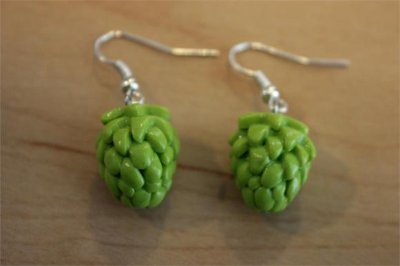 Hop Earrings from Summit Brewing Co.