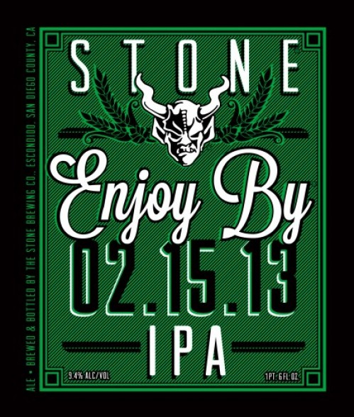 Stone Brewing Co. Enjoy By IPA 2.15.13