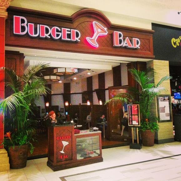 Burger Bar Las Vegas entrance