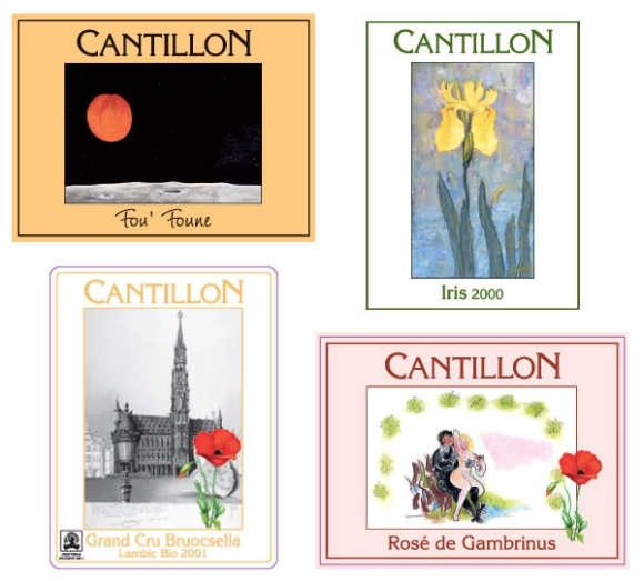 Cantillon Bottle Labels
