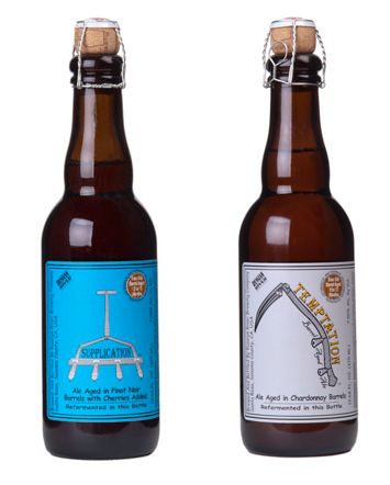 Russian River Supplication Temptation Bottles