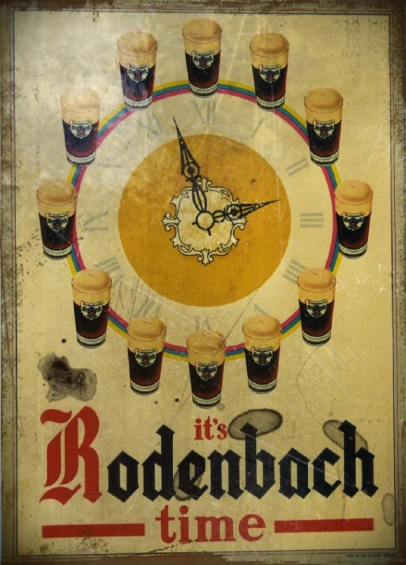 Rodenbach Time vintage sign