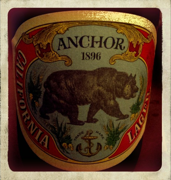 Anchor California Lager Label