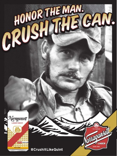 Jaws Quint Narragansett Crush It Like Quint