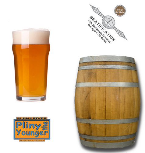 Russian River Pliny the Younger and Beatification