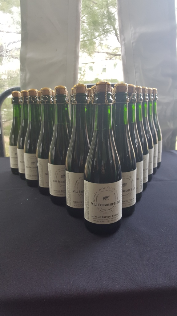 Bottles of the American Wild Friendship Blend
